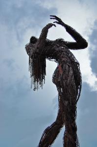 Sculpture in Hayes Valley San Francisco California