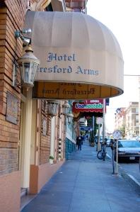 Beresford Arms Hotel Union Square San Francisco California