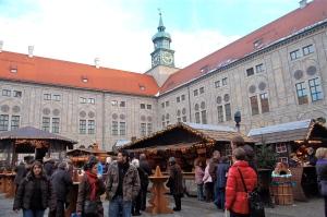 Residenz Christkindlmarkt Munich Germany