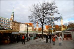 Viktualienmarkt Munich Germany