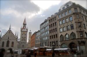 Marienplatz Christkindlmarkt Munich Germany