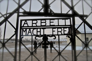 Arbeit Macht Frei Dachau concentration camp Germany