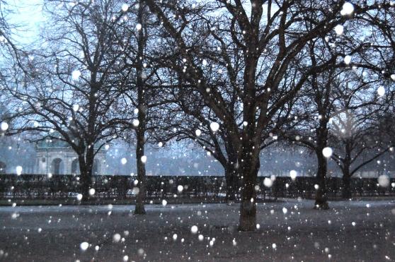 Winter in Munich Germany