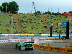 DTM car races in Munich Olympiastadion