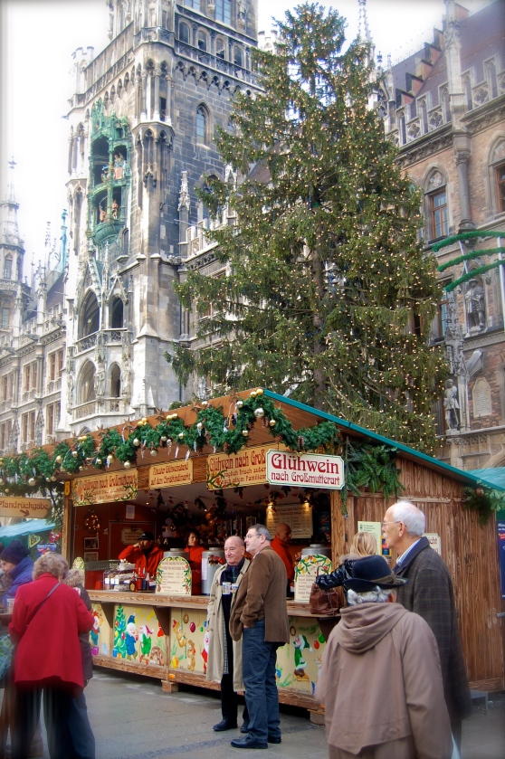 Christkindlmarkt Marienplatz Munich Germany