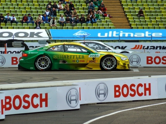 DTM car races Munich Germany