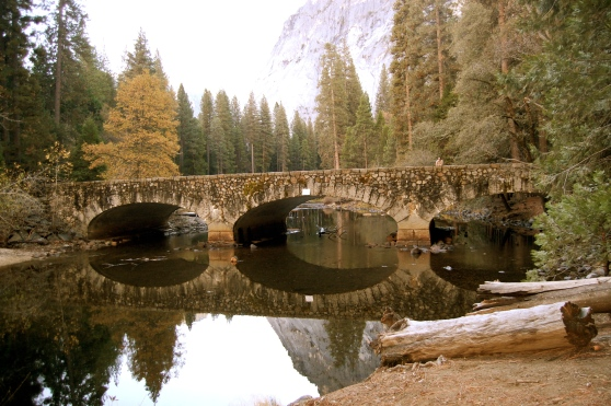 Ahwahnee Hotel bridge