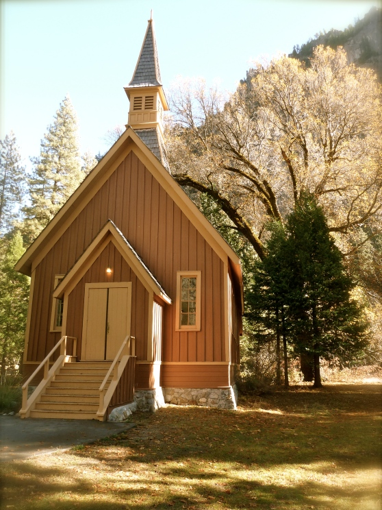 Yosemite church