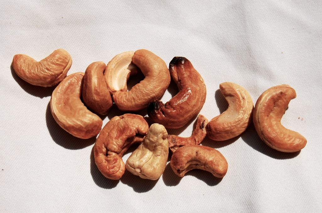 homemade cashews Ambergris Caye Belize